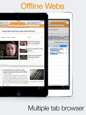 Offline Webs iPad