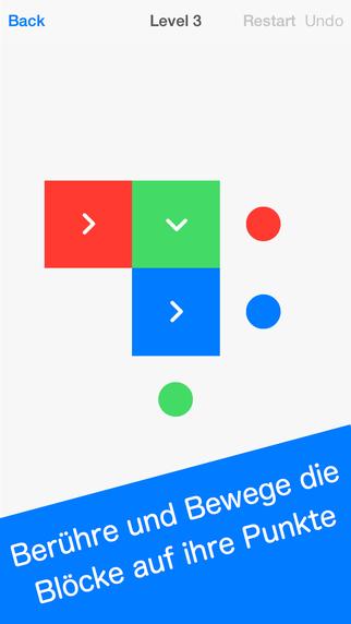 Squares - Kniffliges Puzzle Spiel iPhone iPad