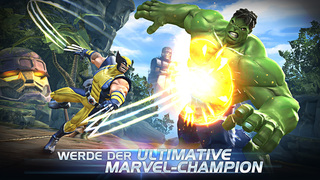 MARVEL Sturm der Superhelden iOS Screenshots