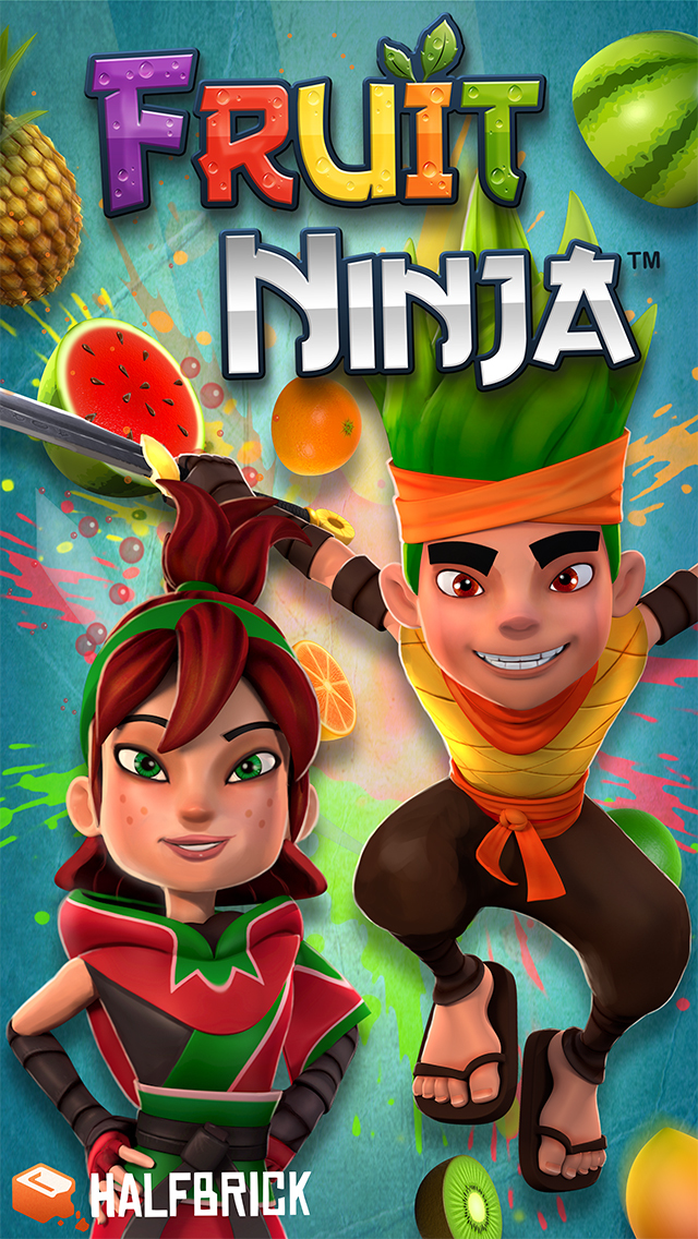 Screenshot 1 Fruit Ninja Classic