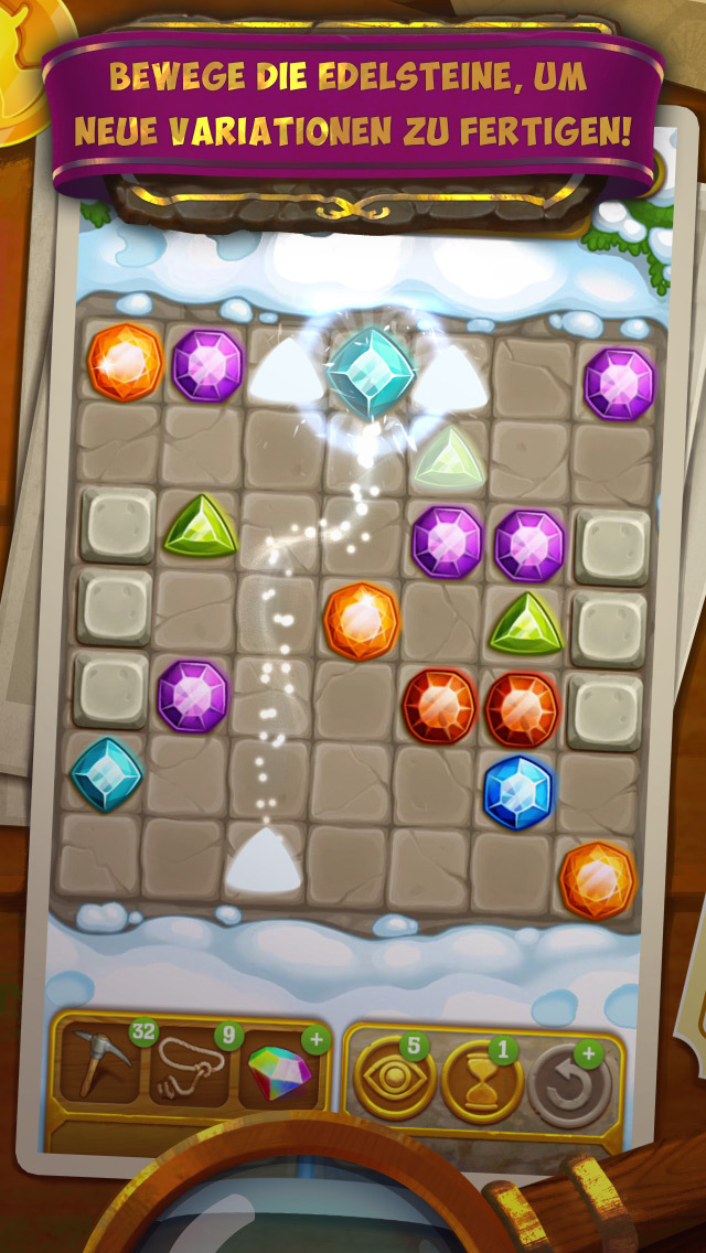 Gemcrafter: Puzzle Journey iOS Screenshots