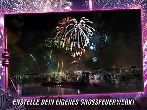 Fireworks Simulator iOS Screenshots