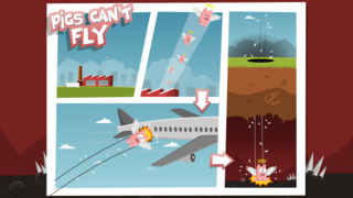 Pigs Can't Fly iOS Screenshots