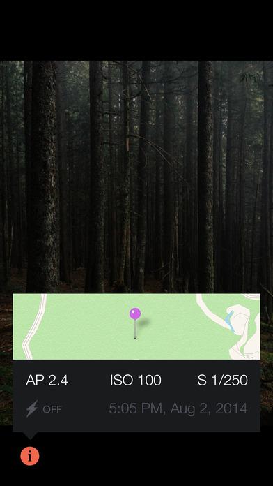 Manual – RAW custom exposure camera Screenshot