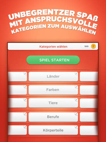 Screenshot 3 Stadt Land Fluss - Wörterspiel