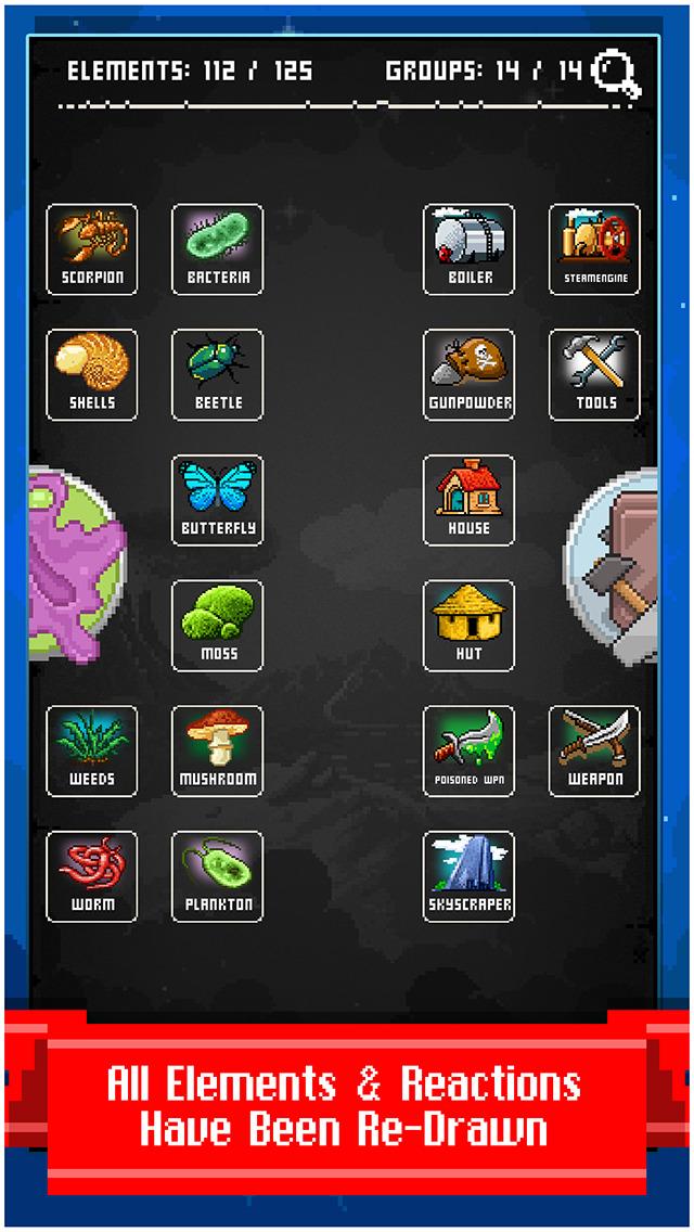 Screenshot 3 Doodle God: 8-bit Mania