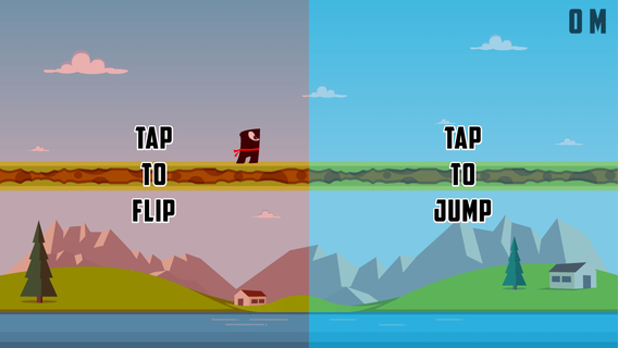 Flipster - Endless Arcade Jumper iPhone iPad
