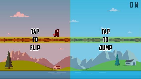 Flipster - Endless Arcade Jumper iPhone iPad
