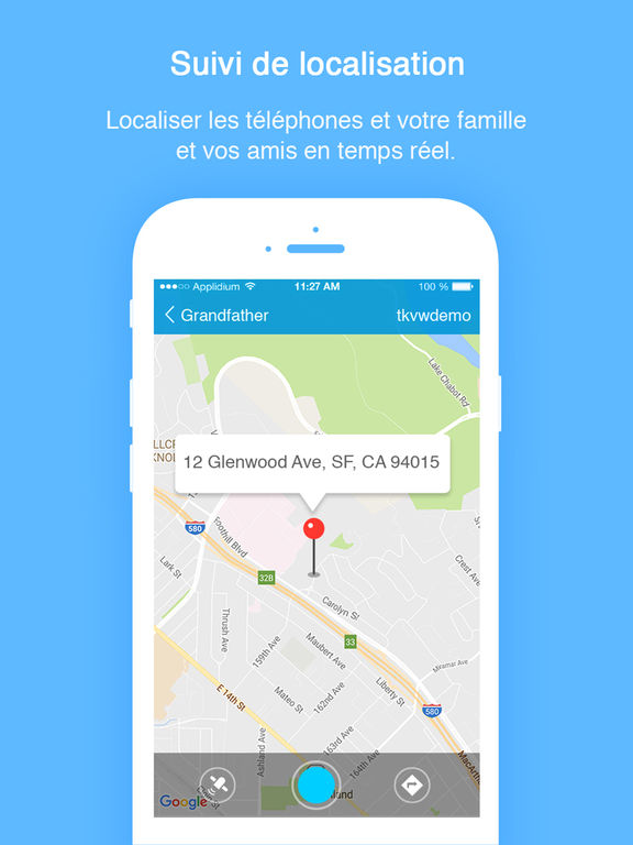 TrackView-Localiser iPhone, Localiser amis, Zenly dans l ...