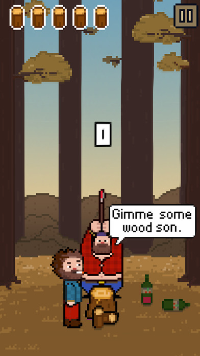 Chopping Wood With My Dad Simulator iOS Screenshots