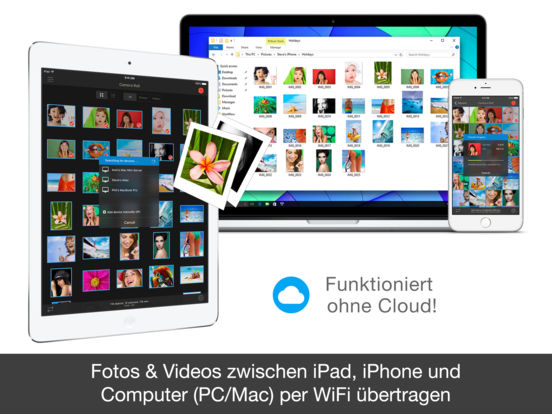 PhotoSync – Fotos & Videos übertragen und sichern Screenshot