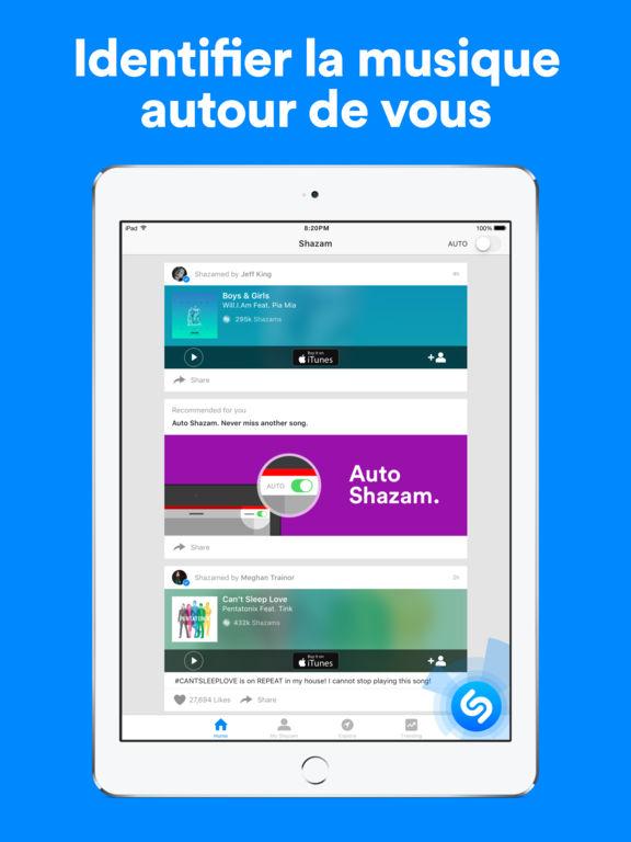 Shazam - Découvrez des musiques Capture d'écran