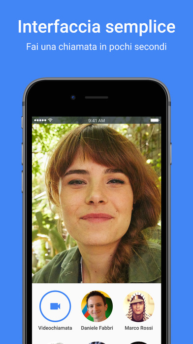 Google Duo: videochiamate semplici Screenshot