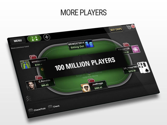 Poker app bet real money