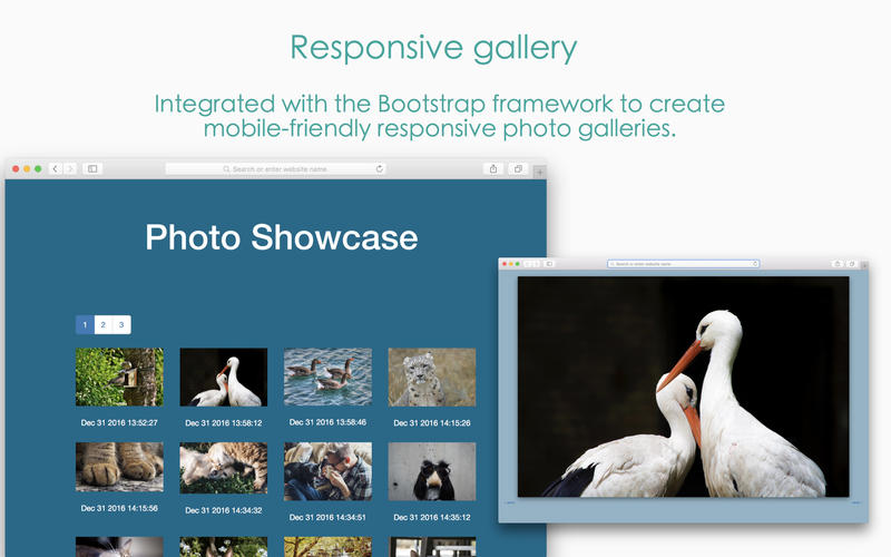 Responsive Photo Grid - Image Gallery Maker Screenshots