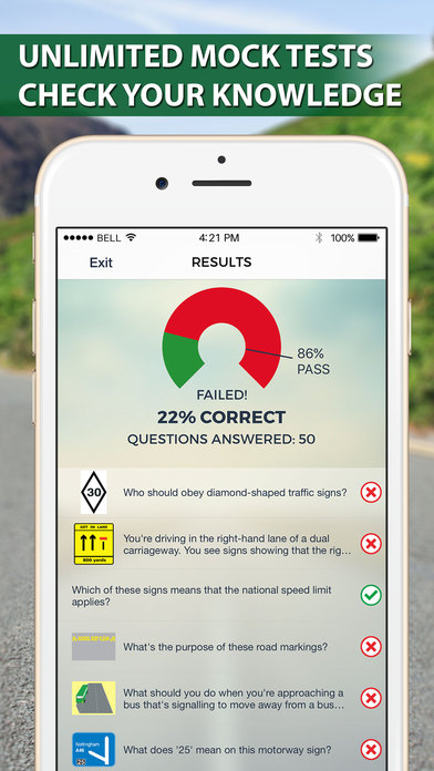 download Motorcycle Theory Test and Hazard Perception appstore review