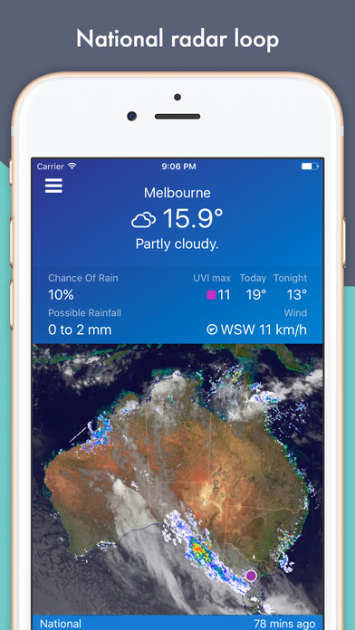 download AUS Rain Radar - Bom radar and weather forecast apps 3