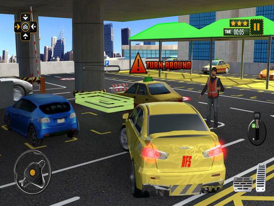 multi level voiture parking spot au volant jeu pro dans l app store. Black Bedroom Furniture Sets. Home Design Ideas
