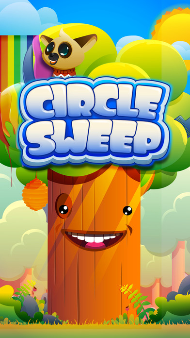 Circle Sweep - Logic Puzzle! Connect & Match Orbs iOS Screenshots