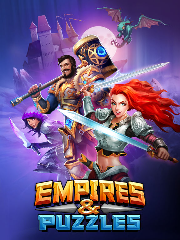 Screenshot 5 Empires & Puzzles: RPG Quest