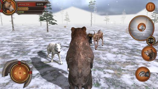 3D Bear Forest Simulation Premium Screenshots