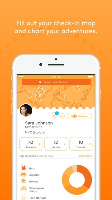 Swarm — by Foursquare Screenshot