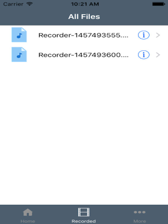 Mini Recorder - Touch to Record high Quality Screenshots