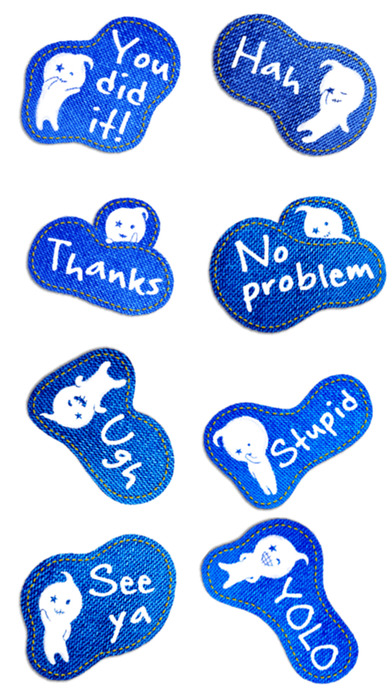 download Talking Jeans Stickers! apps 1