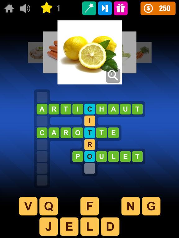 Cuisine mots crois s food cooking crosswords par ludobros for Cuisine americaine mots croises