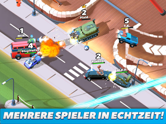 Screenshot 1 Crash of Cars
