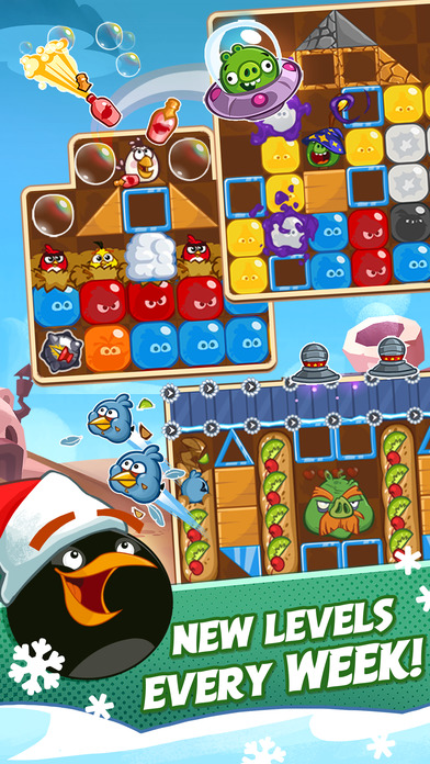 Angry Birds Blast Screenshots