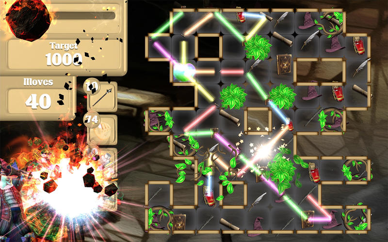 Wizard VS Zombie Free Fall Screenshot