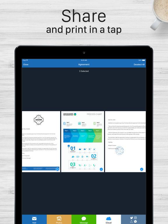Scanner For Me - PDF Scanner + OCR for Documents Screenshot