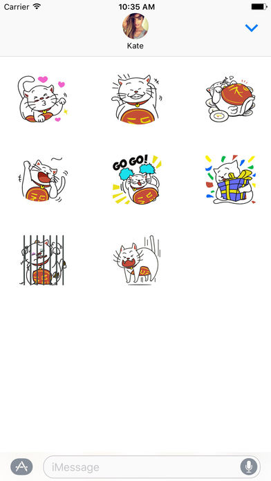download Maneki Neko The Money Lucky Cat - Stickers apps 3