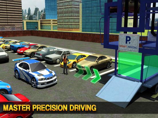 multi niveau voiture parking grue chauffeur 3d pro par waqas akram. Black Bedroom Furniture Sets. Home Design Ideas