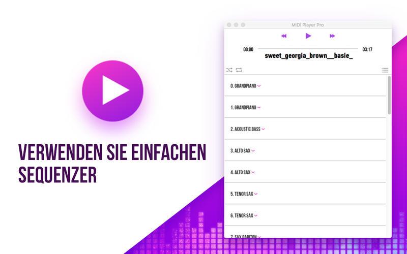 MIDI Player - Modify Music Screenshot