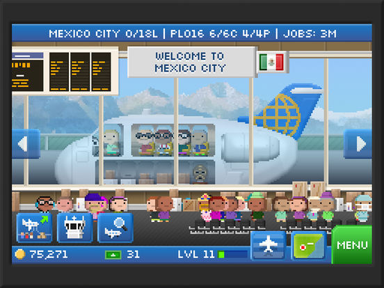 Pocket Planes - Airline Management Screenshots