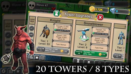 Idle Tower Defense - Idle Incremental TD Game Screenshot