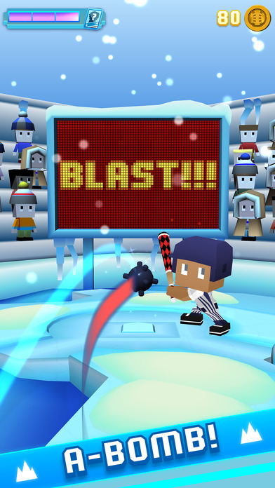 Screenshot 2 Blocky Baseball - Endless Baseball