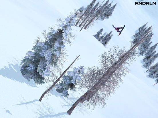 Just Snowboarding iPhone iPad