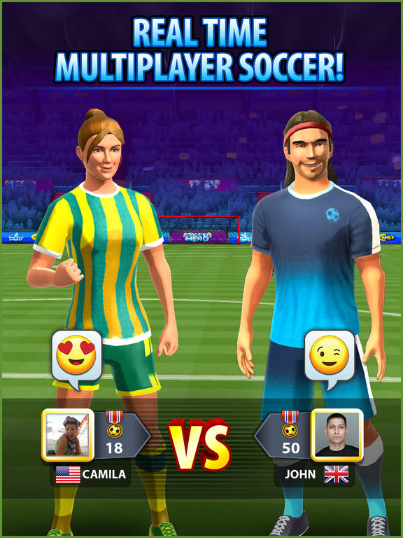 Screenshot 1 Soccer! Hero
