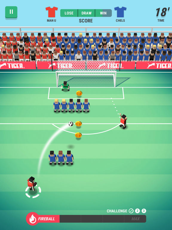 Screenshot 2 Tiny Striker: World Football