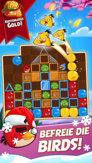 Angry Birds Blast iOS Screenshots