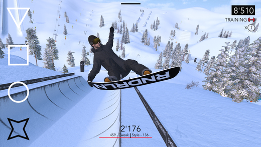 Just Snowboarding Screenshot