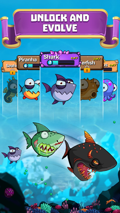 eatme.io hungry fish fun game играть