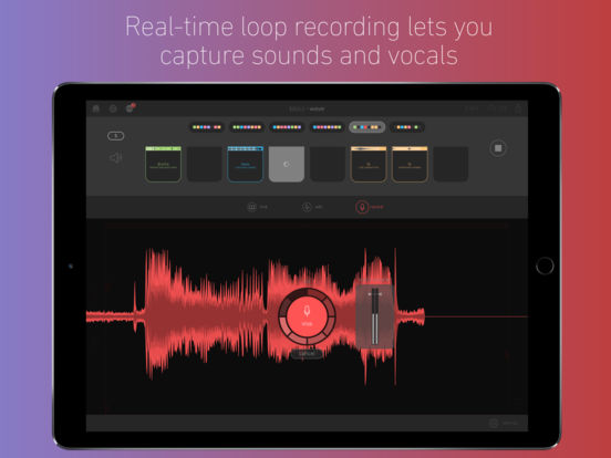 Blocs Wave - Make & Record Music Screenshot