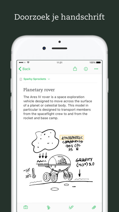 Evernote - blijf geordend Screenshot
