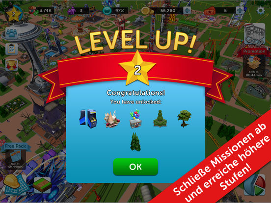 Screenshot 5 RollerCoaster Tycoon® Touch™