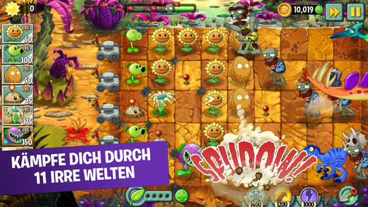 Plants vs. Zombies 2 iOS