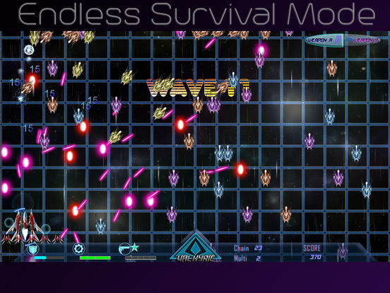 Screenshot 3 Beyond Black Space Valkyrie